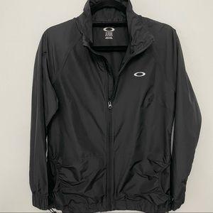 Oakley Black Windbreaker Jacket Women's size Med